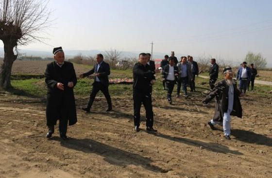 Дар ноҳияи Бобоҷон Ғафуров кишти пунбадона оғоз гардид